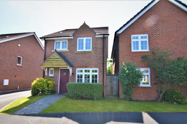 Thumbnail Detached house for sale in Lambourne Court, Gwersyllt, Wrexham