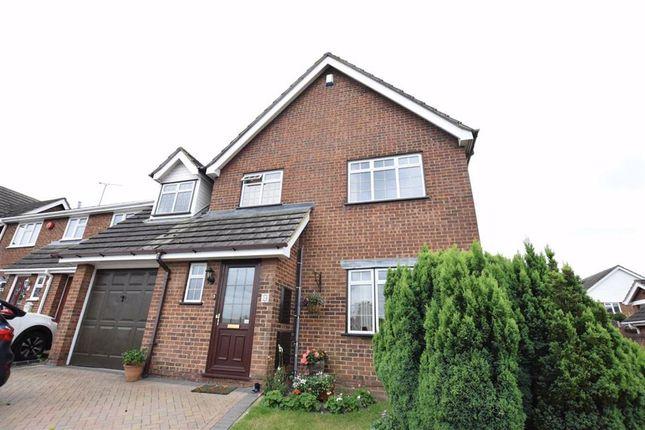 Thumbnail Detached house for sale in Kingsdown Close, Basildon, Essex