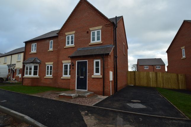Thumbnail Semi-detached house to rent in Oliver Road, Bicton Heath, Shrewsbury