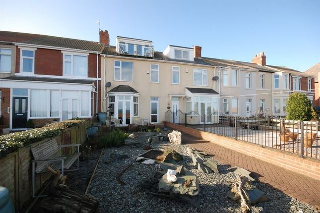 Thumbnail Terraced house for sale in Beach Terrace, Newbiggin-By-The-Sea