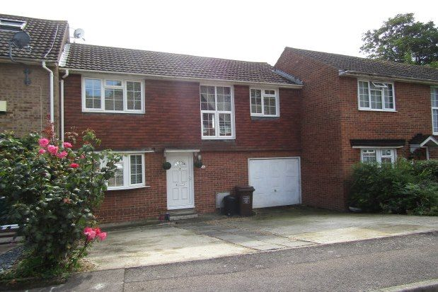 Thumbnail Terraced house to rent in Cressey Court, Chatham