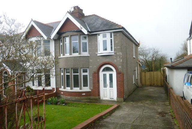 Thumbnail Semi-detached house to rent in Colcot Road, Barry