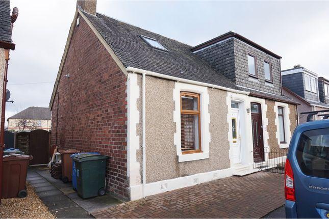 Thumbnail Semi-detached house for sale in Steps Street, Stenhousemuir