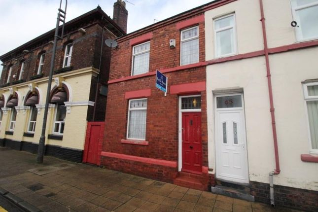 Thumbnail Terraced house to rent in Kemble Street, Prescot
