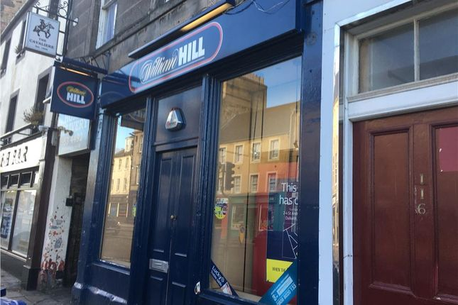 Thumbnail Retail premises to let in 118 High Street, Dalkeith, Midlothian
