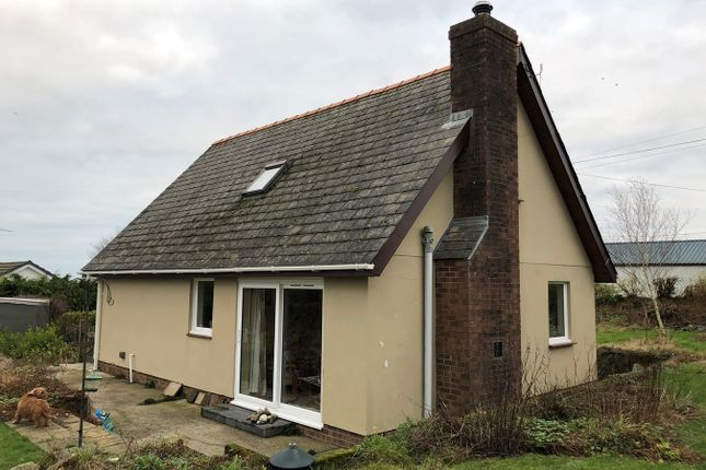 Thumbnail Detached bungalow for sale in Plwmp, Llandysul