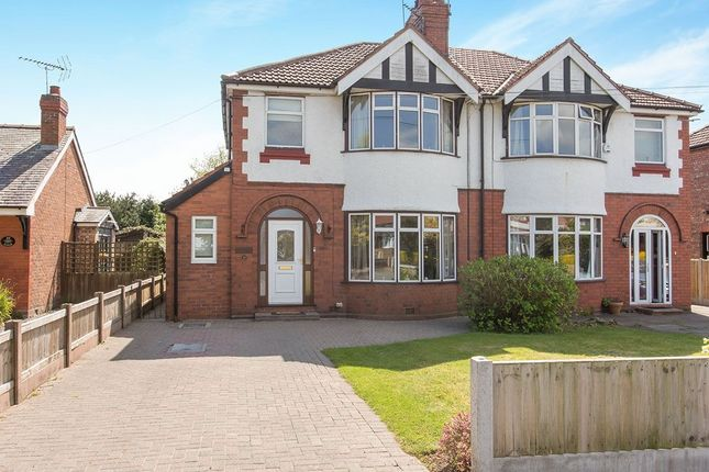 3 bed semi-detached house for sale in Woodlands Road, Hartford, Northwich