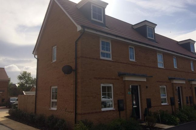 Thumbnail 2 bed end terrace house for sale in Aqua Drive, Hampton Water, Peterborough