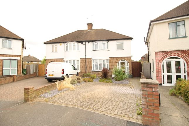 Thumbnail Semi-detached house for sale in Lansdowne Close, Watford