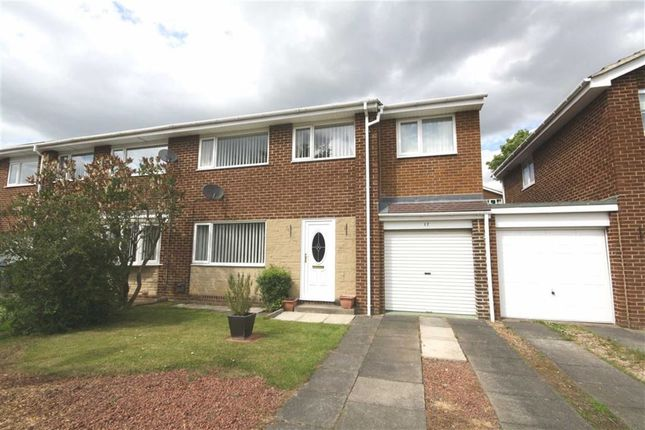 Thumbnail Semi-detached house for sale in Barford Drive, Waldridge Park, Chester Le Street, County Durham