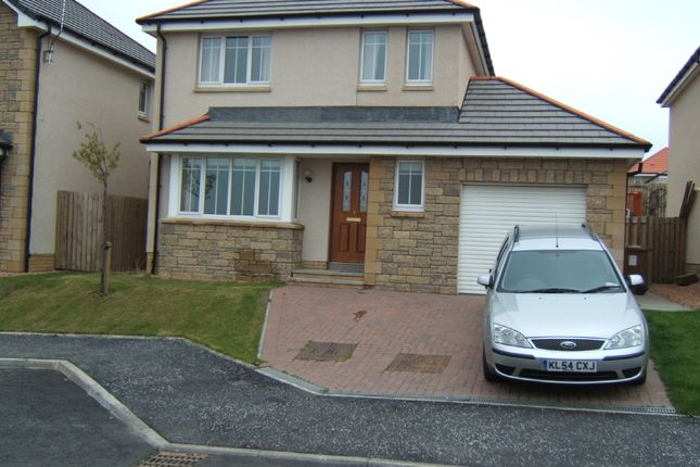 Thumbnail Detached house to rent in Macalpine Court, Tullibody, Alloa