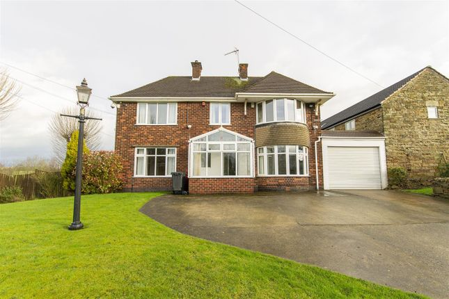 Thumbnail Detached house for sale in Mile Hill, Mansfield Road, Hasland, Chesterfield