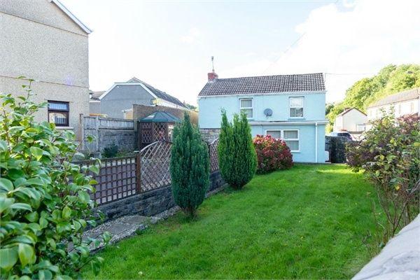 Thumbnail Detached house for sale in Heol Twrch, Lower Cwmtwrch, Swansea, Powys