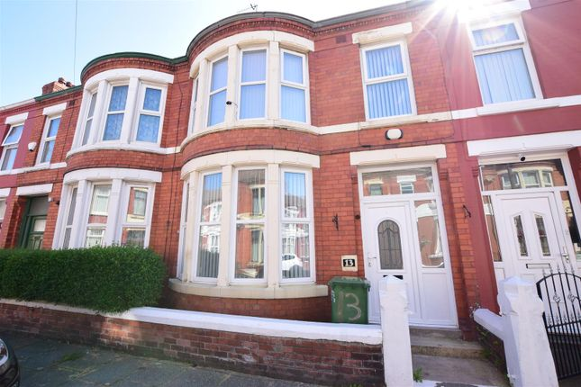 Thumbnail Terraced house to rent in Alverstone Road, Wallasey