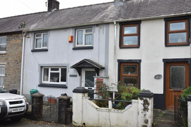 Thumbnail Terraced house to rent in Drefach Felindre, Llandysul, Carmarthenshire