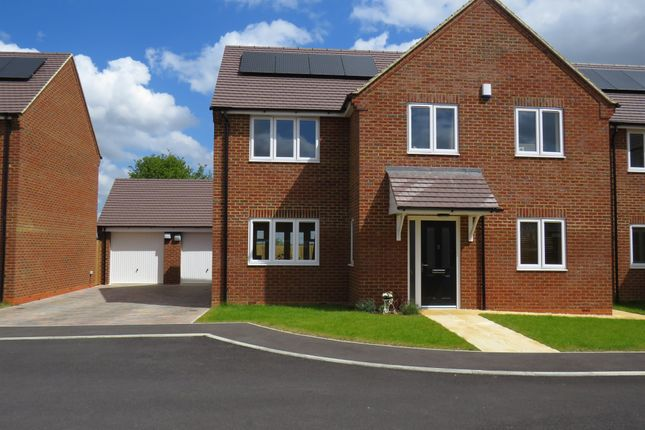 Thumbnail Detached house for sale in Pagnell Close, Wootton, Northampton