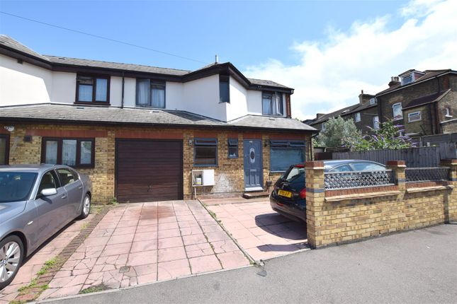 Thumbnail Semi-detached house for sale in Grange Park Road, London