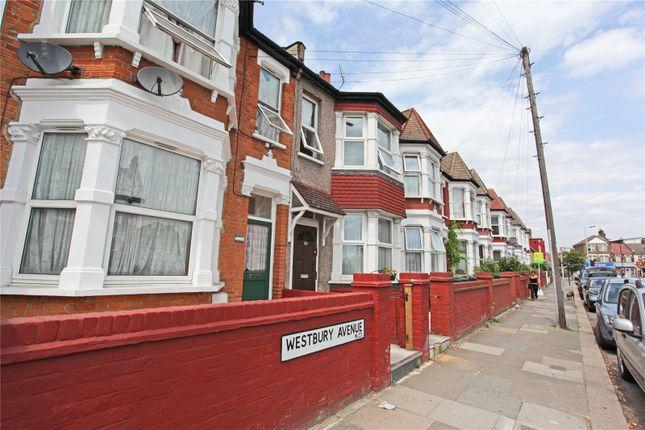 Thumbnail Flat to rent in Westbury Avenue`, London