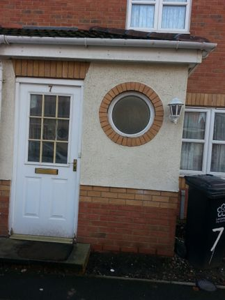 Thumbnail Town house to rent in 7 Guestwick Green, Leicester