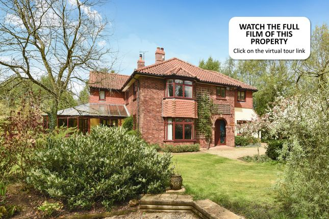 Thumbnail Detached house for sale in Ovington Road, Saham Toney, Thetford