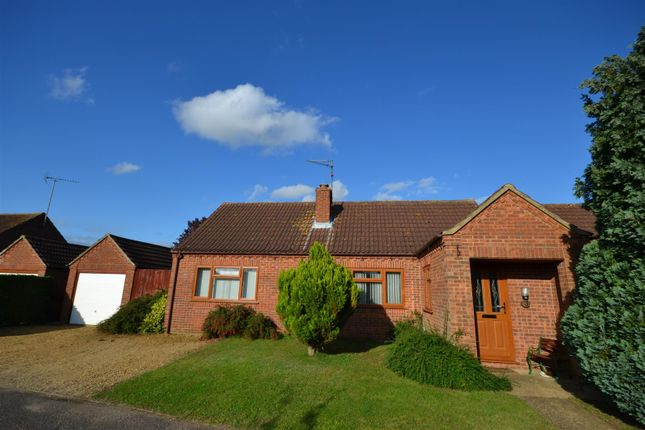 Thumbnail Detached bungalow for sale in Phillipo Close, Grimston, King's Lynn