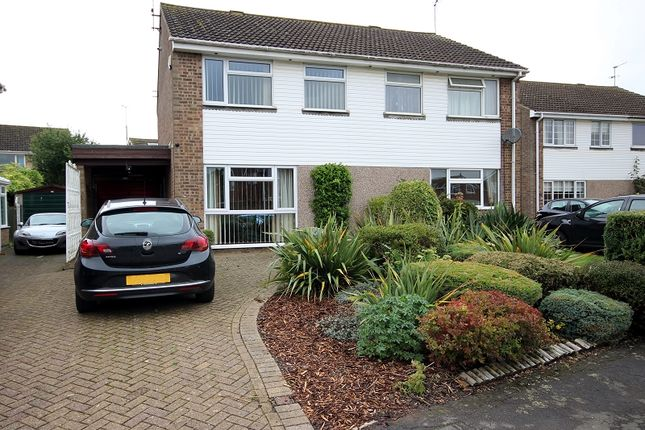 Thumbnail Semi-detached house for sale in Johns Road, Bugbrooke, Northampton, Northamptonshire.