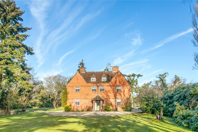 Thumbnail Detached house for sale in Bramley Road, Silchester, Reading, Hampshire