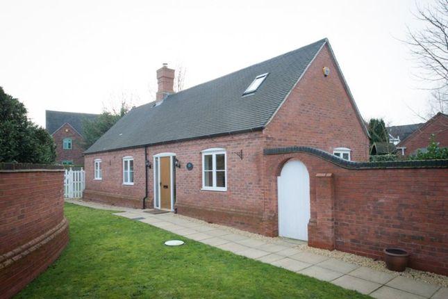 Thumbnail Detached bungalow for sale in Main Street, Alrewas, Burton-On-Trent