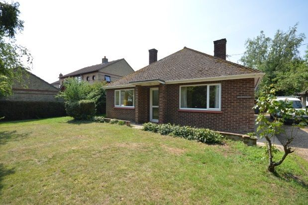 Thumbnail Bungalow to rent in Over Road, Willingham, Cambridge