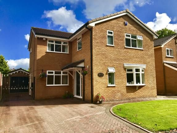 Thumbnail Detached house for sale in Coldstream Close, Warrington, Cheshire