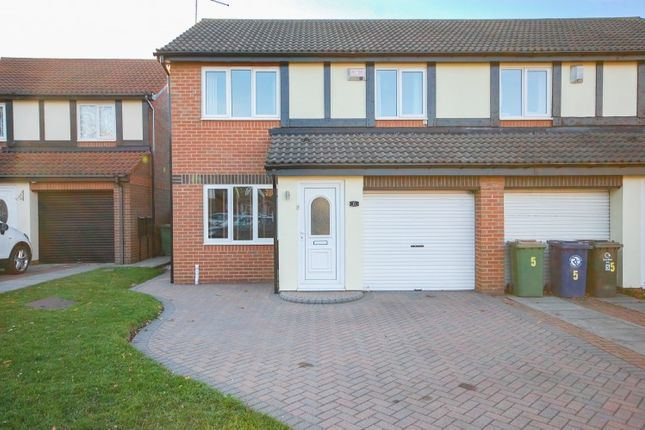 Thumbnail Semi-detached house for sale in Seaford Close, Redcar