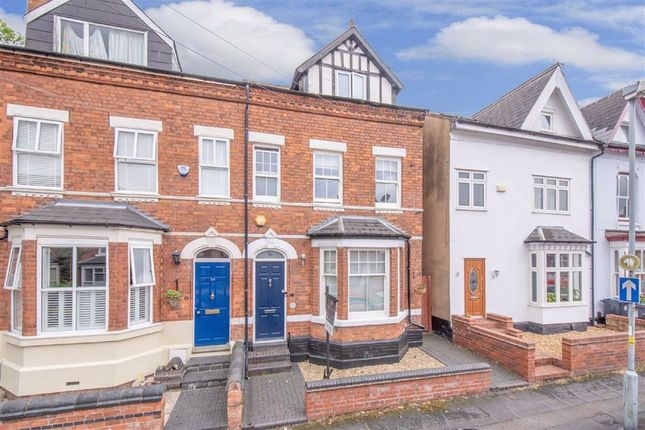Thumbnail Semi-detached house for sale in Clarence Road, Harborne, Birmingham