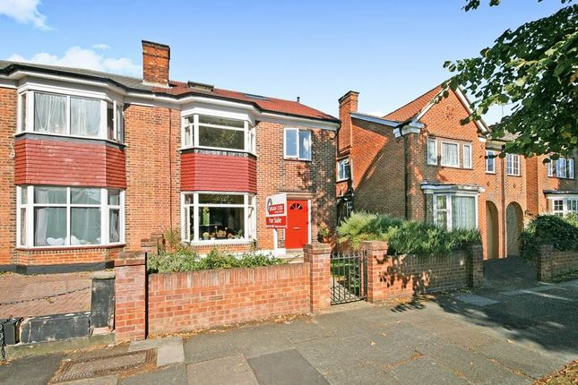 Thumbnail 5 bed semi-detached house for sale in Vivian Avenue, Wembley