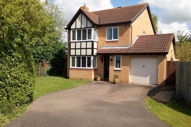 Thumbnail Detached house for sale in Barringer Way, St. Neots