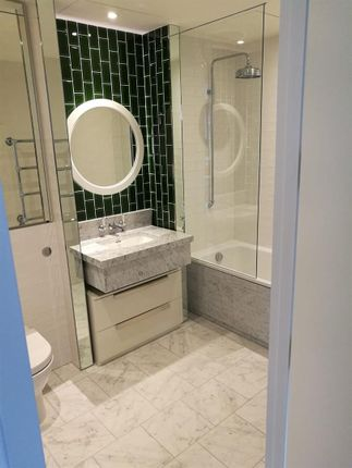 Bathroom of Capital Building, Embassy Gardens, 5 New Union Square, Nine Elms, London SW11