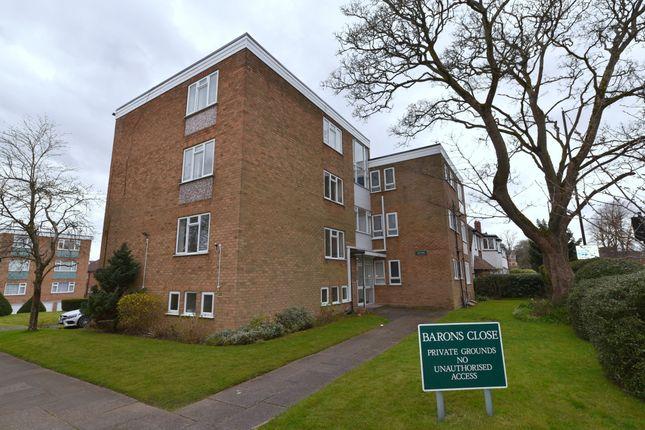 Thumbnail Flat for sale in Barons Close, Harborne, Birmingham