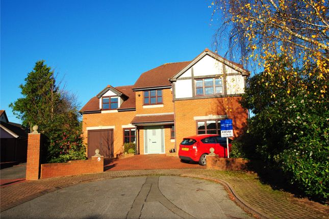 Thumbnail Detached house for sale in Springfields, Castleton, Cardiff