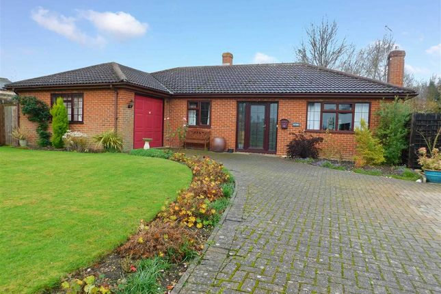 Thumbnail Detached bungalow for sale in School Corner, Cratfield, Halesworth, Suffolk