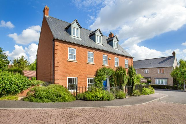 Thumbnail Detached house for sale in Lady Jermy Way, Teversham, Cambridge