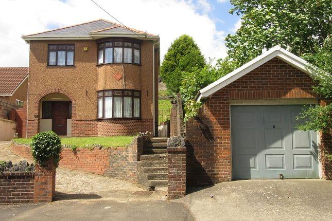 Thumbnail Detached house for sale in Tygwyn Road, Clydach, Swansea.