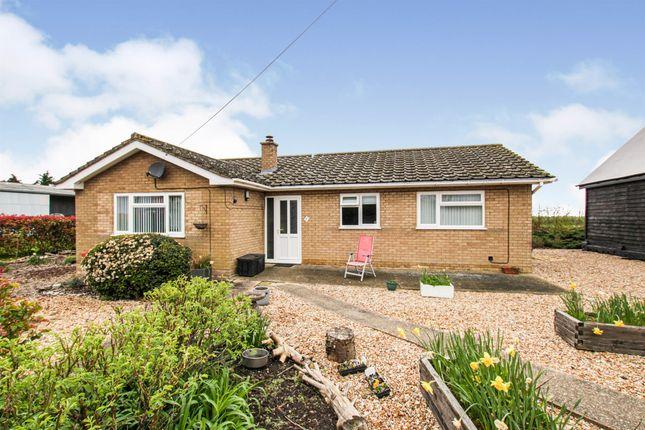 Thumbnail Detached bungalow for sale in Third Drove, Little Downham, Ely
