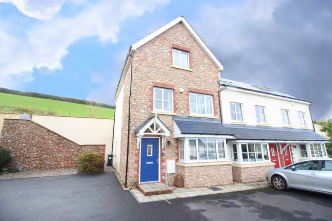 End terrace house for sale in Charles Road, Kingskerswell, Newton Abbot