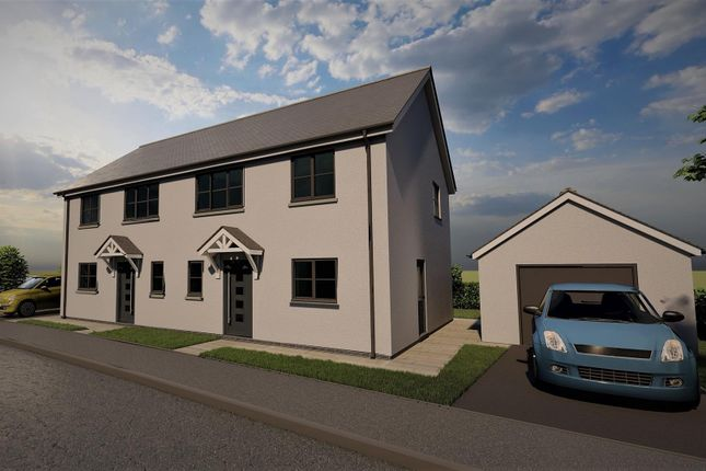 Semi-detached house for sale in Vale Court, Houghton, Milford Haven