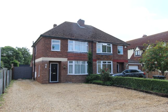 Thumbnail Semi-detached house for sale in London Road, Biggleswade