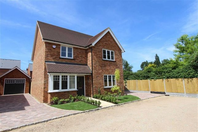 Thumbnail Detached house for sale in Leighton Road, Stoke Hammond, Milton Keynes