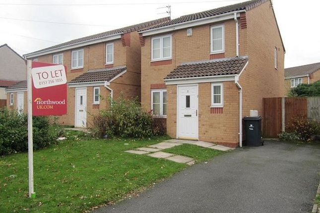 Thumbnail Detached house to rent in Oakdale Row, Broad Lane, Kirkby, Liverpool