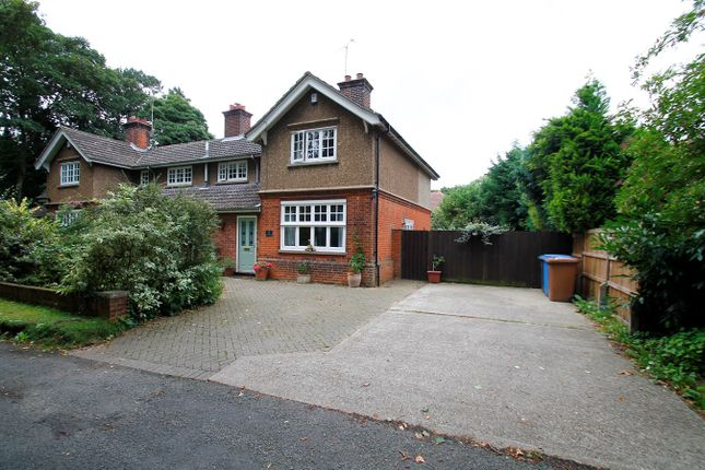 Thumbnail Semi-detached house for sale in Cemetery Lane, Ipswich