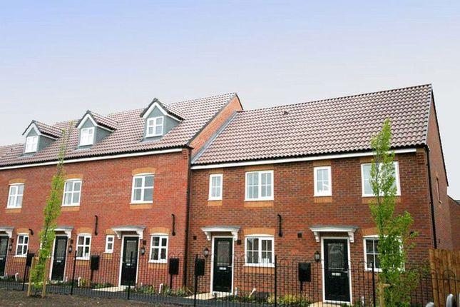 Thumbnail Terraced house to rent in Castilla Place, Stretton, Burton-On-Trent