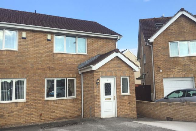 Thumbnail Semi-detached house for sale in School House Close, North Cornelly, Bridgend