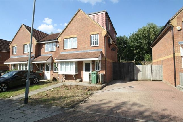 Thumbnail Semi-detached house for sale in Vulcan Close, Beckton, London